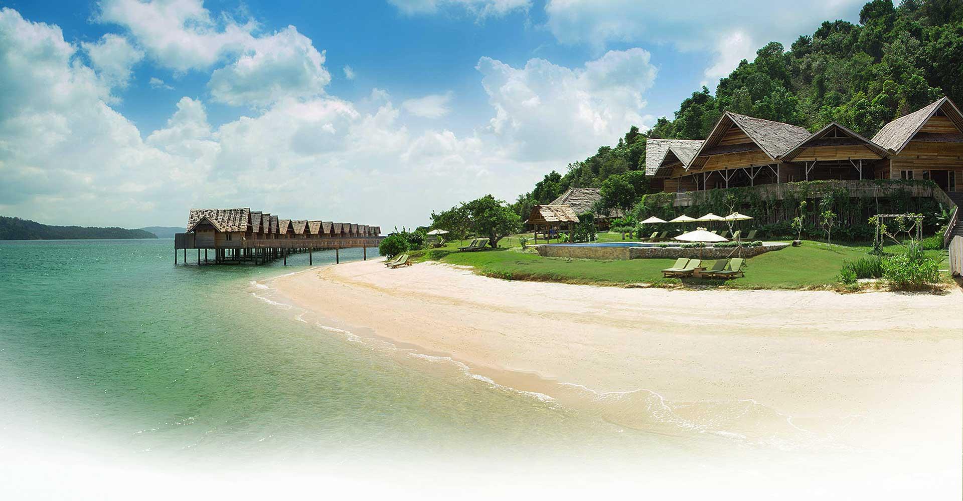 Telunas Private Island Rates - Private Island and Beach Resort Near