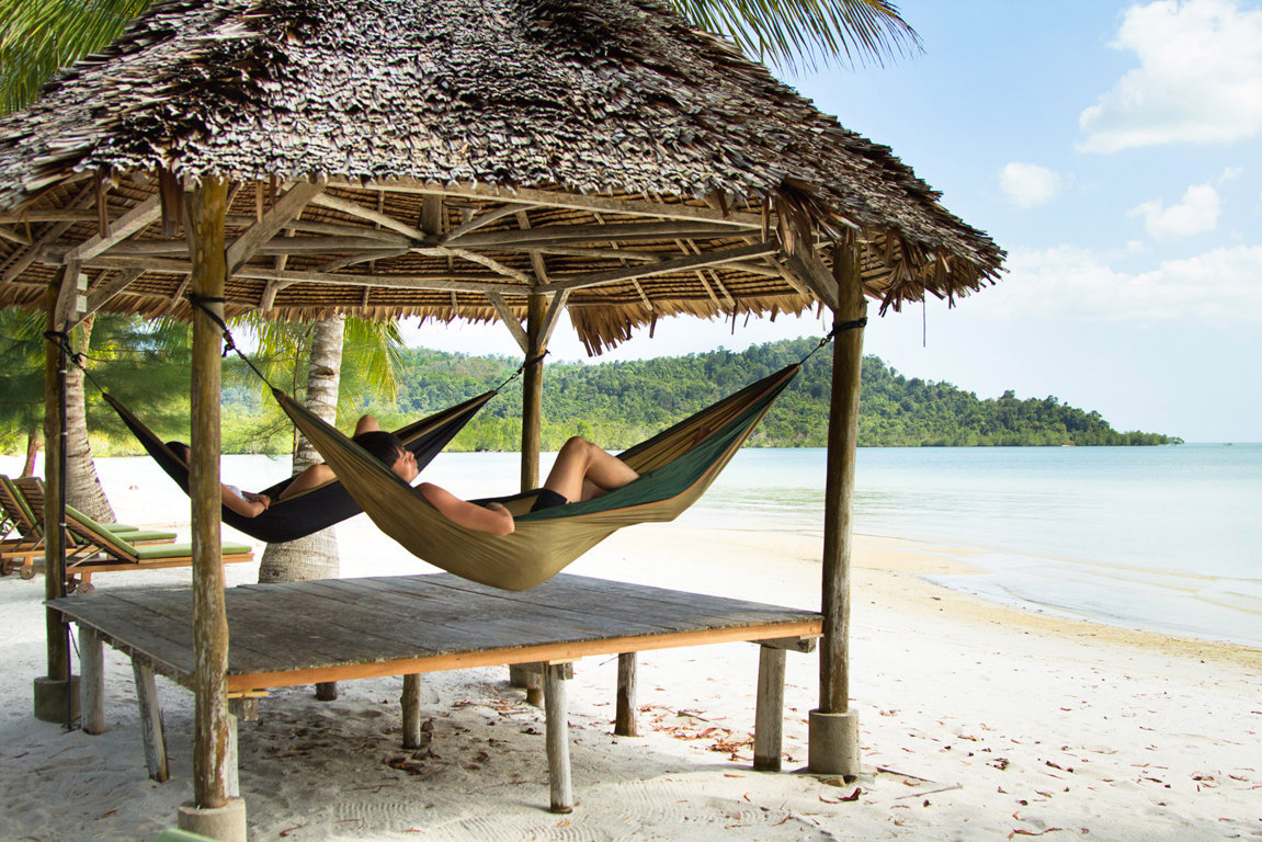Telunas Beach Resort Activities Hammock
