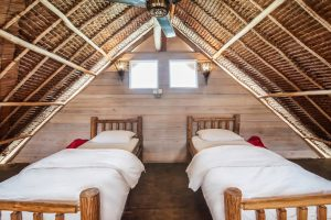 Twins Beds in the Loft at Telunas