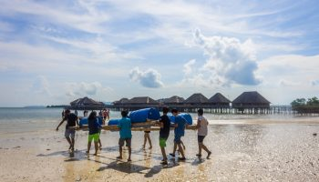 Group Activities At Telunas Beach Resort