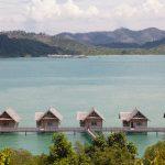 Overwater Villas overseeing the water